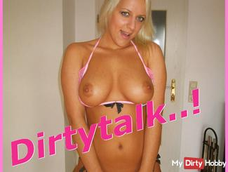 Dirty Talk! Full spray me ....!