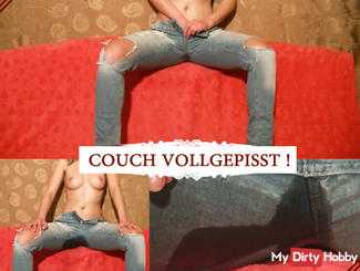 Couch pissed!
