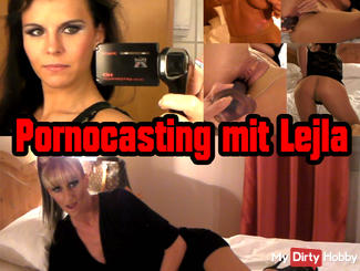 EXCLUSIVE: Pornocasting with Lejla