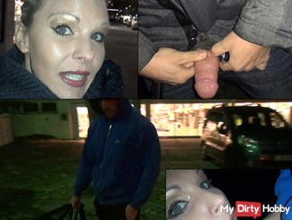 Test of courage - 2 foreign cocks blown public !!!