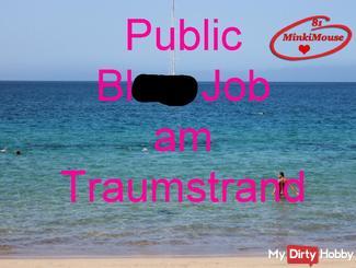 Public - bl*wjob am Traumstrand
