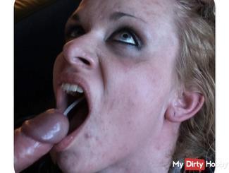 ANITA: anal missionary, swallows sperm, masturbates to orgasm