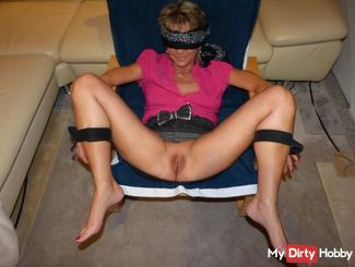 Fucked blindfolded