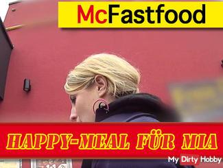 Happy Meal for Mia * Public Cum Walk *