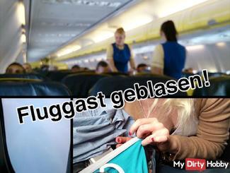 EXTREM PUBLIC: Im FLUGZEUG gebla*en!!!