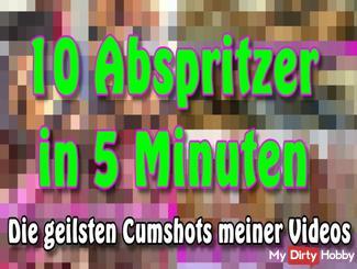 10 cumshots in 5 minutes