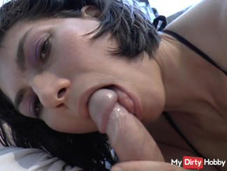 Blowjob until the lout is