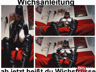 Wichsanleitung Now slave I call you Wich face