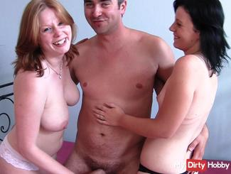My first threesome with girlfriend
