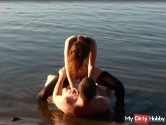 Fick in the Elbe with creampie - and caught
