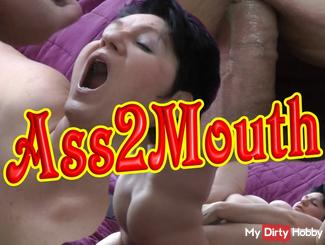 Ass to Mouth - Fucked and vollgesaut