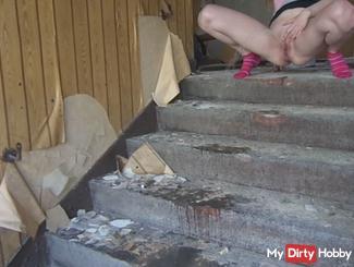 Feinstens bepisst stairs