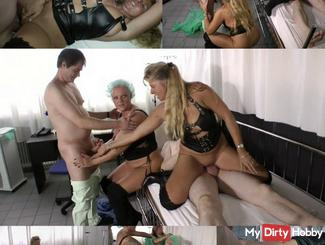The horny clinic! Here fuck all messed up !!
