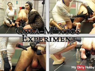 The second Cola Mentos Experiment