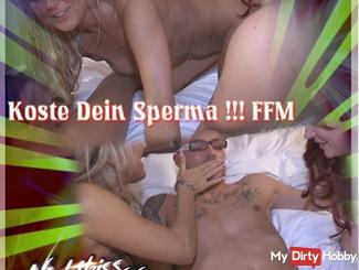 FFM syringe and taste your cum !!!