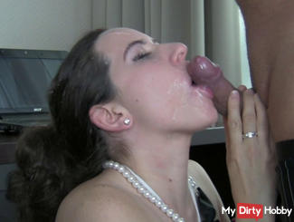 Mega-blowjob / Deepthroat facial Cumshot