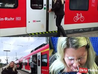 Passenger injected 2x consecutively in the middle of the S-Bahn