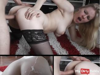 Pure passion - Unrestrained fucked! Cum ass! 2/2
