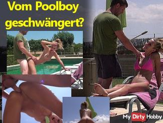 OH FUCK! Pregnant by the pool boy?