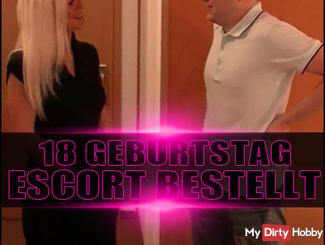 18 GEBURTSTAG | ESCORT BESTELLT!