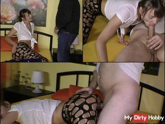 Mies! As Escort bitch mercilessly exploited!