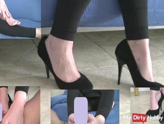 High-Heel-Fetisch mit foot**b
