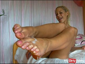 Feet fuck with MDH user
