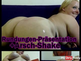 Rounding presentation-Arsch.Shaken