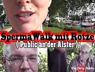 Public: sperm Walk with snot on the Alster!