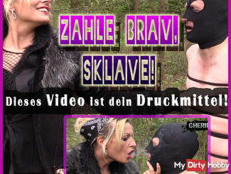 Number behaved slave! This video is your pressure medium!