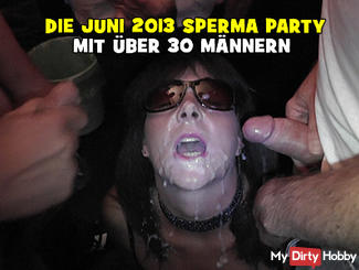 THE JUNE 2013 CUMSHOT PARTY WITH 50 MEN