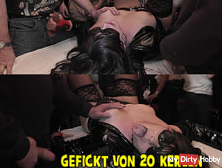 Party bitch - fucked by 20 guys