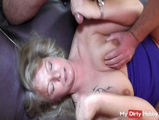 25 young cocks and a Milf! Part 2