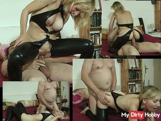 Wild riding and doggy fucked