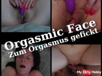 Orgasmic Face - fucked to orgasm