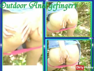 fingered Outdoor Anal