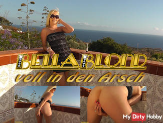 Bella Blonde - fully in the ass