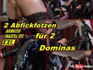 2 Abfickfotzen for 2 Dominas