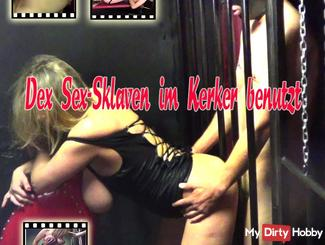 Used Sex Slave in dungeon