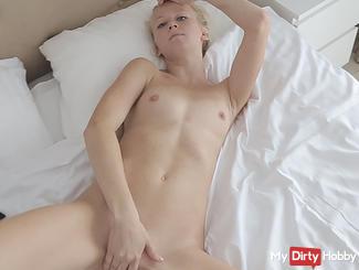 Anna massaged small tits: D