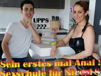 His first time anal! Sexschule with Nico 18 !!!