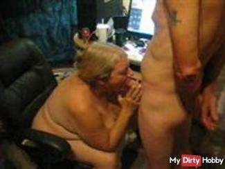 Sucking His Dick