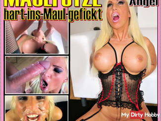 The Maulfotze Tiffany Angel - fucked hard in her mouth