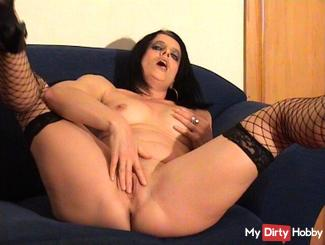 Horny on the couch