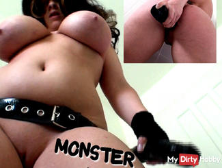 Monsterdildo - ANAL TAKEN