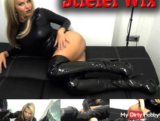 Boots Wix - Latex Domina wants your cream!