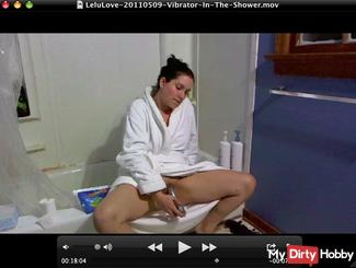 Vibrator In The Shower