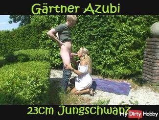APPRENTICE GARDENER-23cm with HUGE TAIL