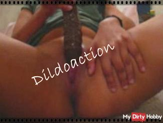 Dildo Action - here it is down to business