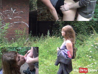 OUTDOOR FUCK WITH YOUNG HORNY GUY